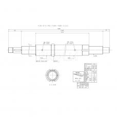 Шариковинтовой привод R36-6T4-RSI-1596-1686-0.023