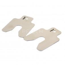 Набор калиброванных платин; 510 pcs; 9 thicknesses; размерs of 50, 75 and 100мм TMAS 510