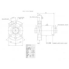 Гайка ШВП R12-4T3-FSINW
