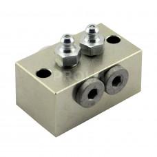 Ниппельный блок для 2-х присоединений 532-32454-1