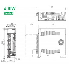 Драйвер серводвигателя ED1S-VG-0422-A0