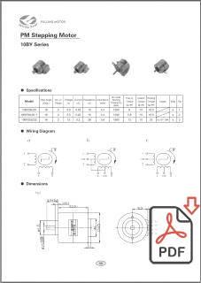 Каталог миниатюрных шаговых двигателей Fulling Motor, на английском языке, 1МБ